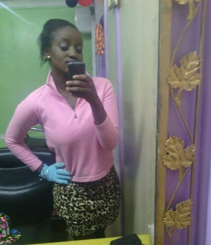 Eve Oyuga, 24, Nairobi, Kenya