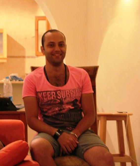 Manno Hosny, 30, Dahab, Egypt