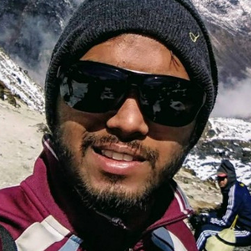 Shubham Gupta, 23, Bangalore, India