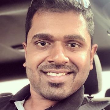 Francis Rodrigues, 34, Dubai, United Arab Emirates