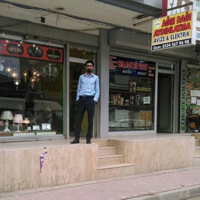Ümit Kotan, 32, Antakya, Turkey