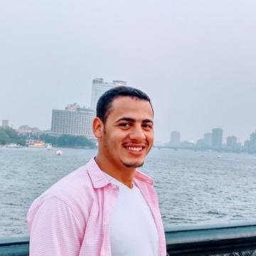 Ahmad Alshuwayer, 25, Cairo, Egypt
