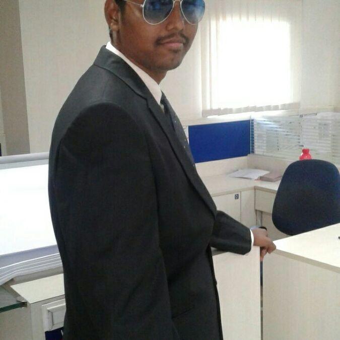 Chandra Kiran Raj M, 29, Hyderabad, India