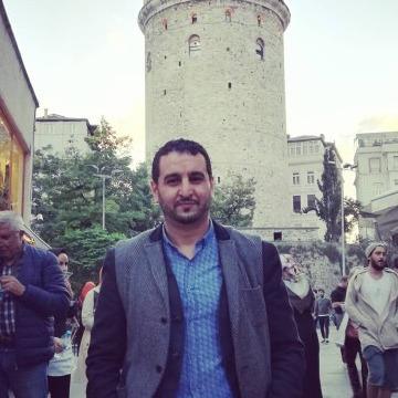 Salem Ahmed, 31, Istanbul, Turkey