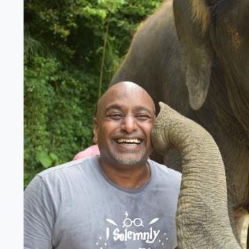 Viswanathan Prasanna, 52, Goa Velha, India