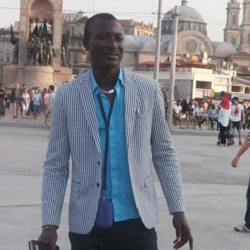 Kelvin Kelvin, 43, Usak, Turkey