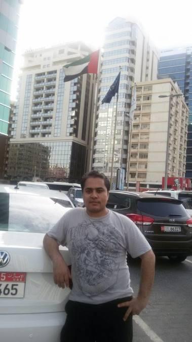 Ali Ali Sher, 32, Abu Dhabi, United Arab Emirates