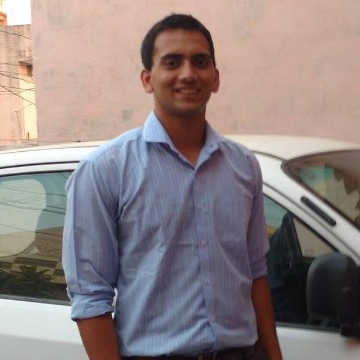 Aakash Saluja, 23, Yamuna Nagar, India