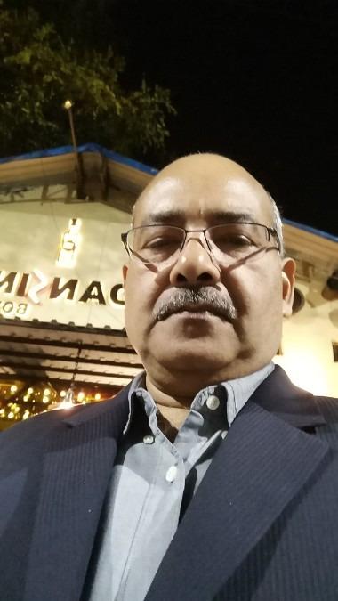BALRAM L PUROHIT, 57, Pune, India