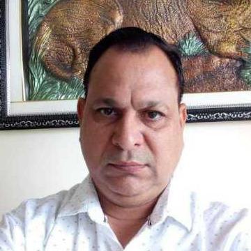 Bhargava, 59, New Delhi, India