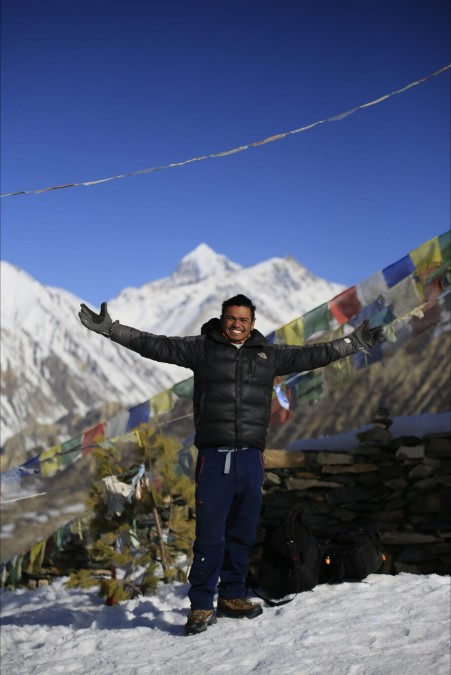 Yogesh Kunwar, 25, Kathmandu, Nepal