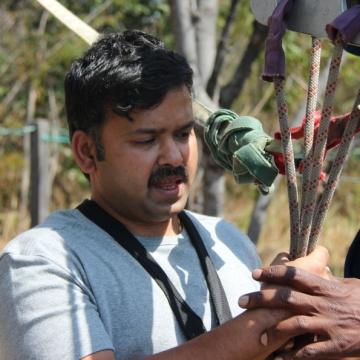 Praveen Kovi, 40, Bangalore, India