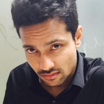 Pushpendra Agrawal, 33, Dubai, United Arab Emirates