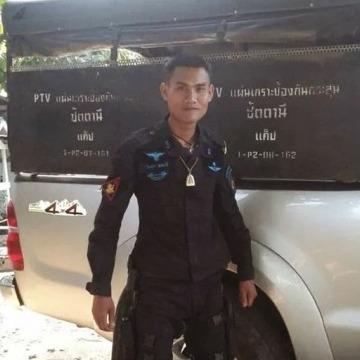 นักรบ ดำ พราน อี่สาน, 34, Thai Mueang, Thailand