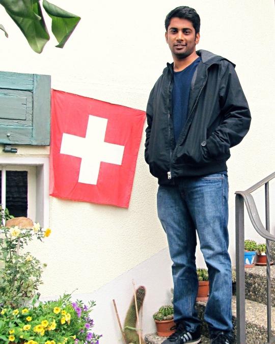 Karthik Jayakumar, 31, Chennai, India