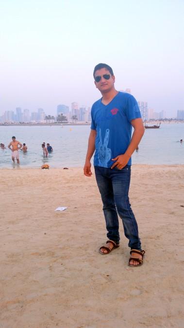Vinod Jakhar, 33, Dubai, United Arab Emirates