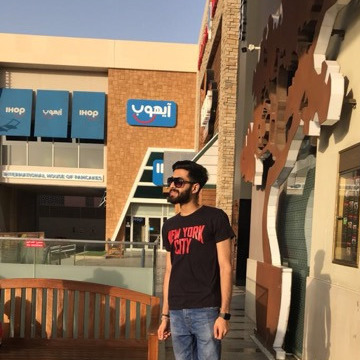 Mohammad Deshmukh, 22, Bishah, Saudi Arabia