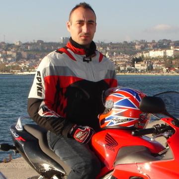 Cenk Ergun, 45, Istanbul, Turkey