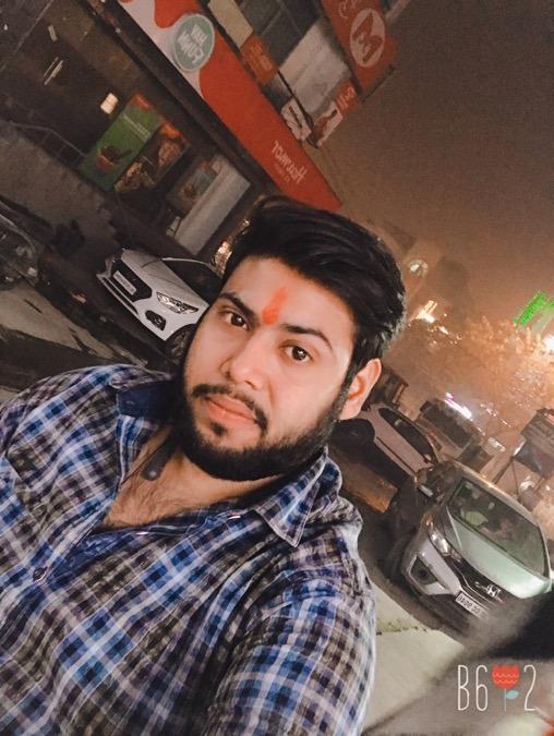 Abhishek garg, 25, New Delhi, India