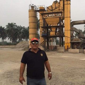 Paul collins, 59, Lagos, Nigeria