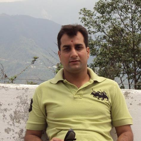 Vishal Tandon, 38, New Delhi, India