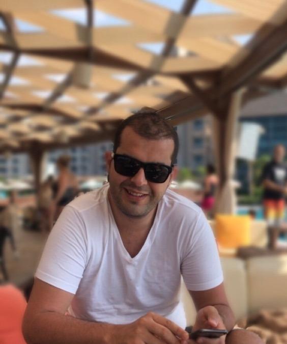 Ibrahim Arabul, 39, Istanbul, Turkey