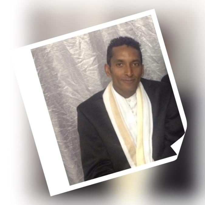 Tanesh Naidoo, 34, Johannesburg, South Africa