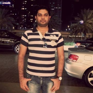 Srinivas Naidu, 33, Dubai, United Arab Emirates
