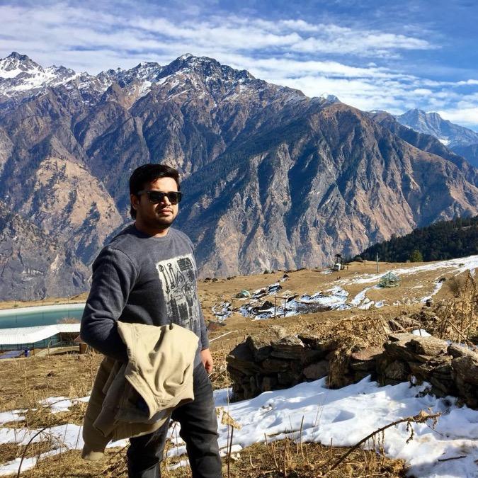 Nishant Gupta, 30, Noida, India