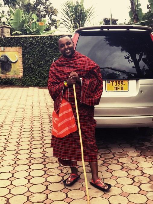 George Dominick, 35, Arusha, Tanzania