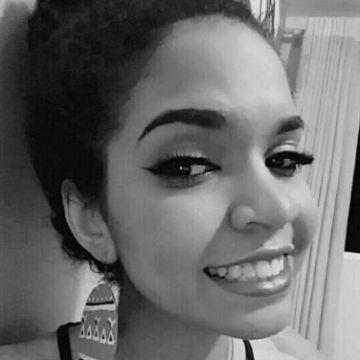 Esther Vitorino, 20, Contagem, Brazil