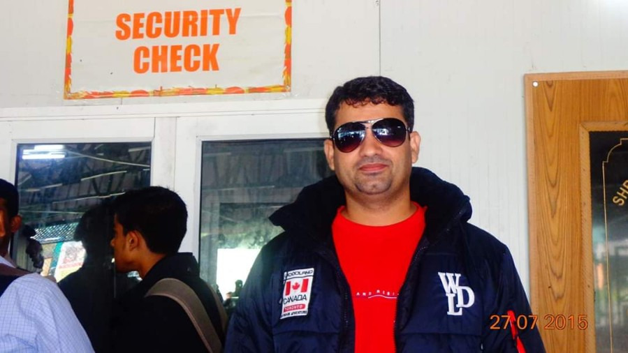 Chaudhary Mukesh Sheoran, 35, Alwar, India