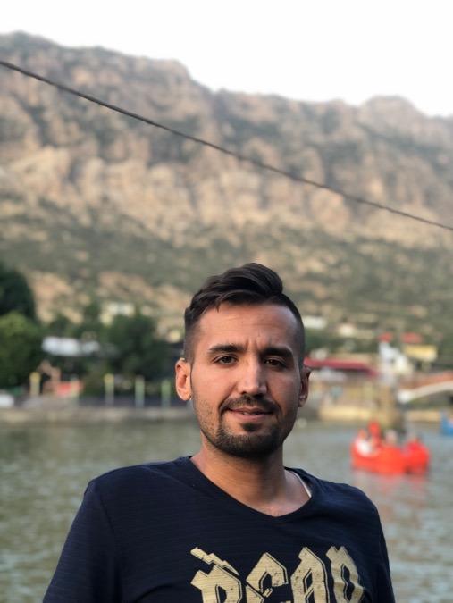 Saifaldeen, 33, Baghdad, Iraq