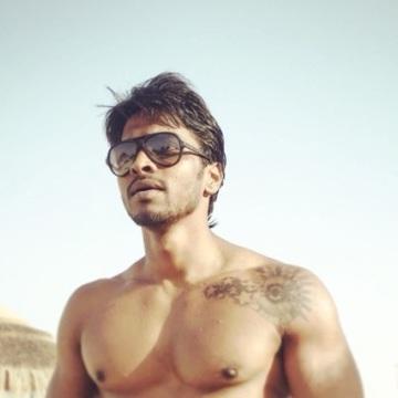 Satish Aariya, 28, Abu Dhabi, United Arab Emirates