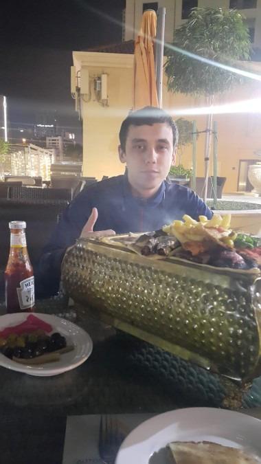 Igor Kozlovskyy, 29, Dubai, United Arab Emirates