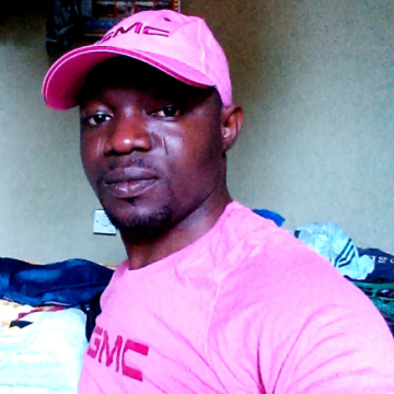 Usman Abbey, 32, Abeokuta, Nigeria