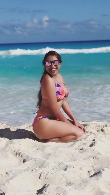 Astrid Hernández, 22, Cancun, Mexico