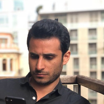 Moh Haidar, 30, Beyrouth, Lebanon
