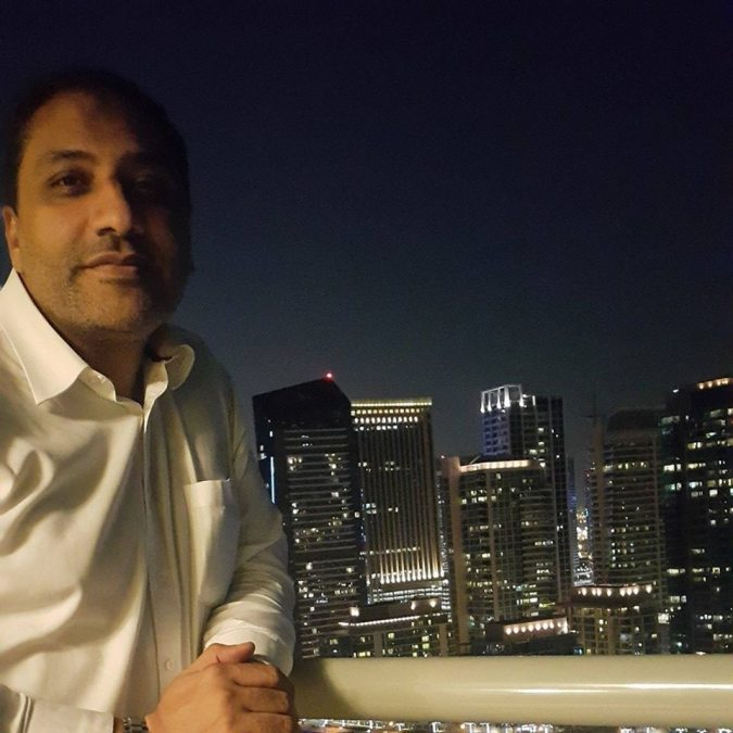 Wahed Mnelnas, 46, Dubai, United Arab Emirates