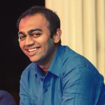 Vivek Dabhi, 32, Mumbai, India