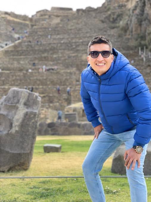 Jose Pacheco Salas, 31, Lima, Peru