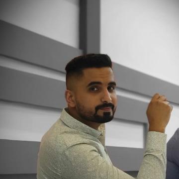 Hussam Amer, 27, Baghdad, Iraq