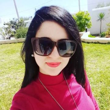 Selima Hamza, 27, Agareb, Tunisia