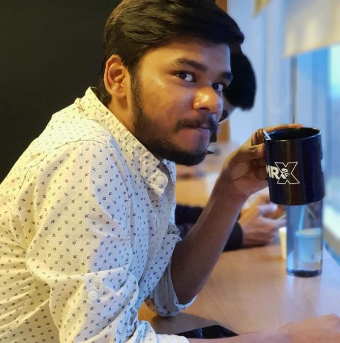 Rahul Kumar Gupta, 28, Bangalore, India