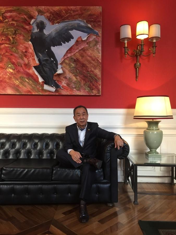 Joongmook  Kim, 59, Seoul, South Korea