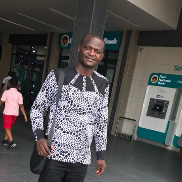 Enoch, 34, Accra, Ghana