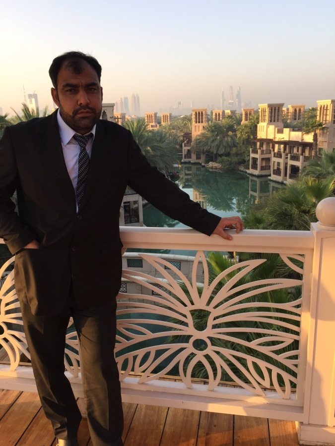 Daniyal Niaz, 41, Dubai, United Arab Emirates