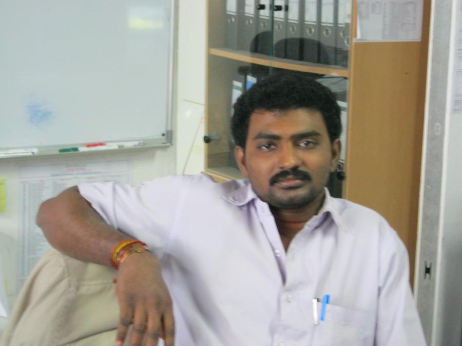 CHINNAIAH, 37, Karaikudi, India