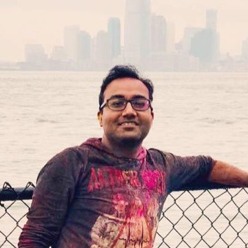 Arpit Tandon, 33, Jersey City, United States