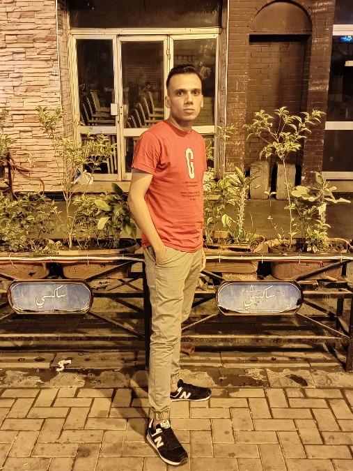 Youssef Mounir, 27, Cairo, Egypt